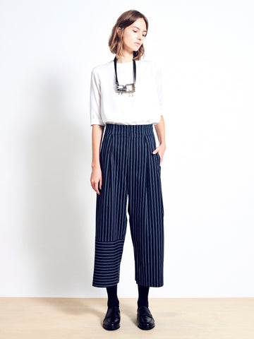 BODHI Stretch Cotton Wide Leg Pants