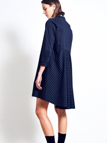 LACHLAN Stretch Cotton Shirt Dress