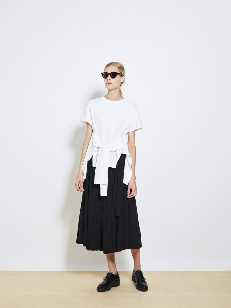 BOWIE Crepe Pleated Culottes