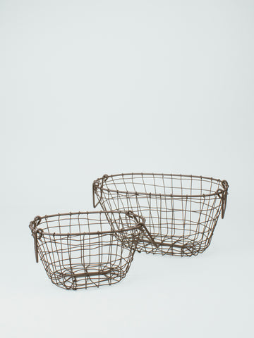 FOG LINEN WORK Iron Basket