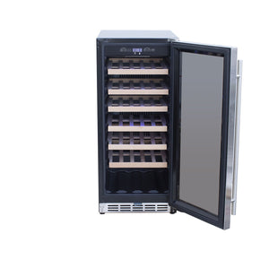 "15"" Outdoor Rated Standard Cabinet Wine Cooler"