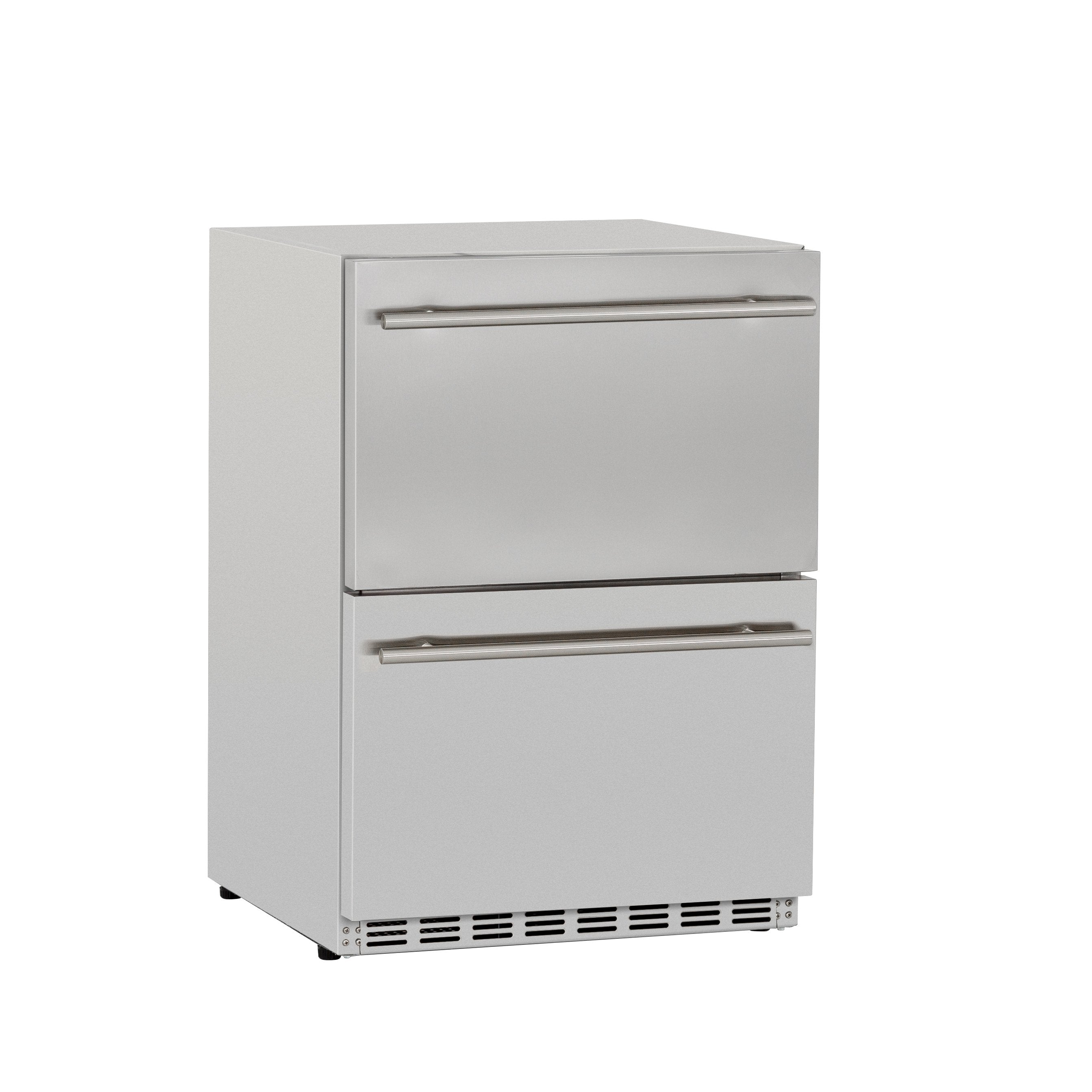"24"" 5.3c Deluxe Outdoor Rated 2-Drawer Refrigerator"