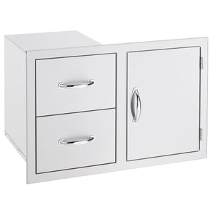 "33""  2-Drawer & Access Door Combo"