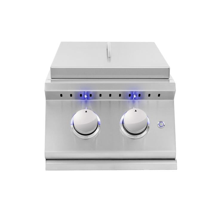 Sizzler Pro Double Side Burner Natural Gas