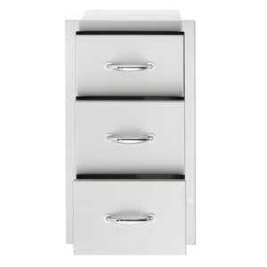 "17""  Triple Drawer"