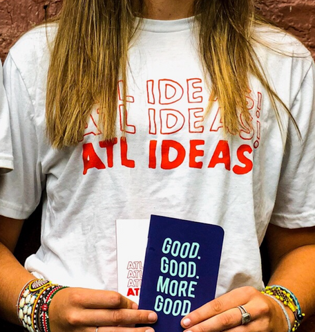 Live-Printed ATL Ideas T-Shirt