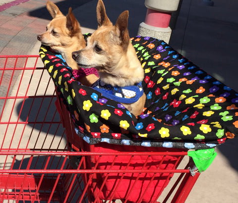 Dog Shopping Cart Liner from Spoiled Dog Designs