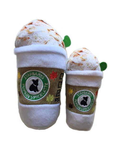 Starbarks Pupkin Spice Latte Dog Toy