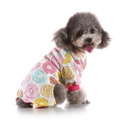Pink Donut Dog Cat Pajamas