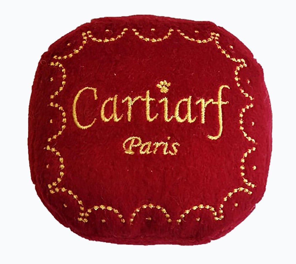 Cartiarff Gift Box Dog Toy - SpoiledDogDesigns.com