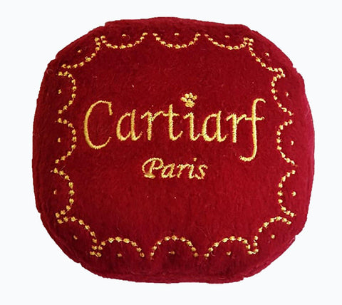 Cartiarff Gift Box Dog Toy
