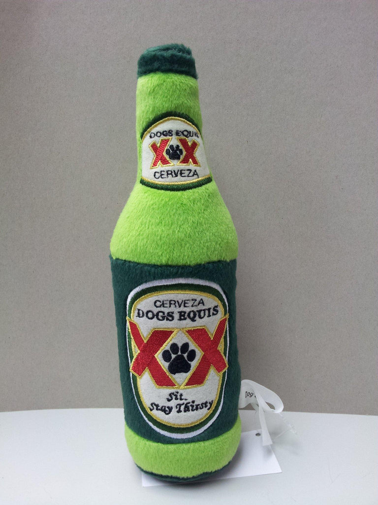 Dogs Equis Cerveza Beer Bottle Dog Toy