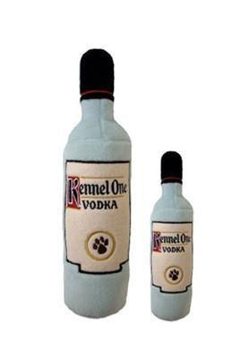 Kennel One Vodka Bottle Dog Toy