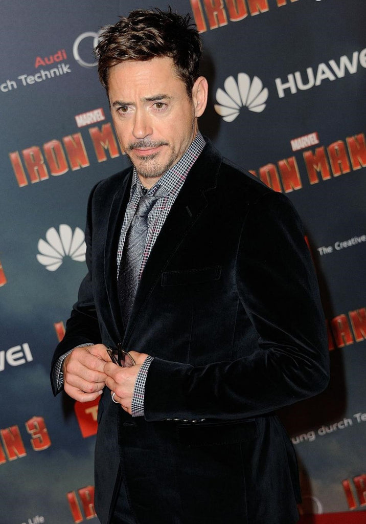 Fabulous How To Wear Formal Dress Like Iron Man Robert Downey Jr Otaa Natural Hairstyles Runnerswayorg