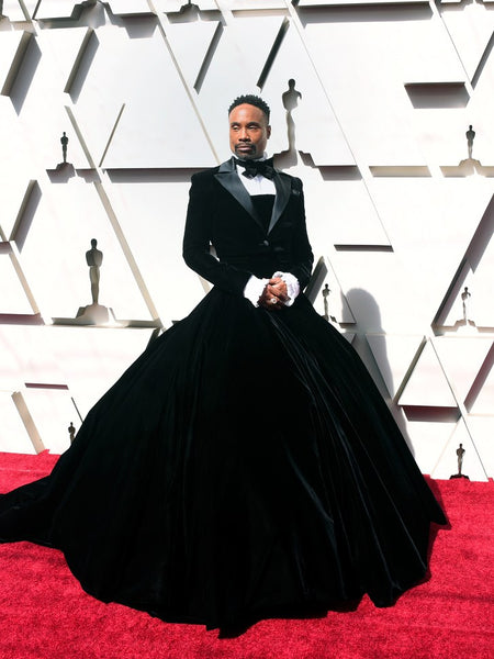 Billy Porter Oscars Dress