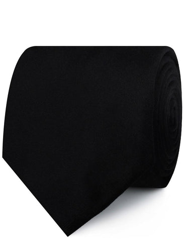 Bond Black Velvet Necktie