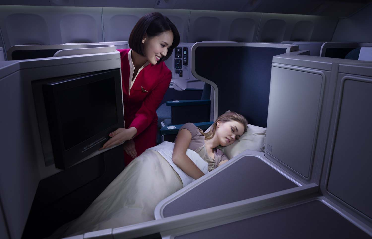 Cathay Pacific Airways Business Class