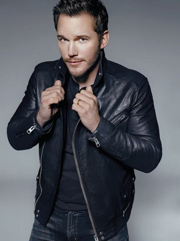 Chris Pratt Leather Jacket