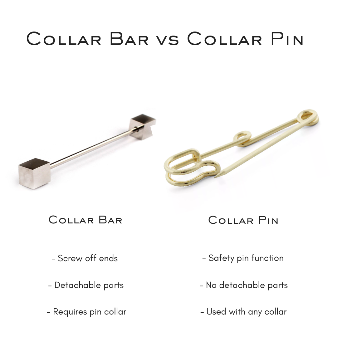Difference between a collar bar and collar pin