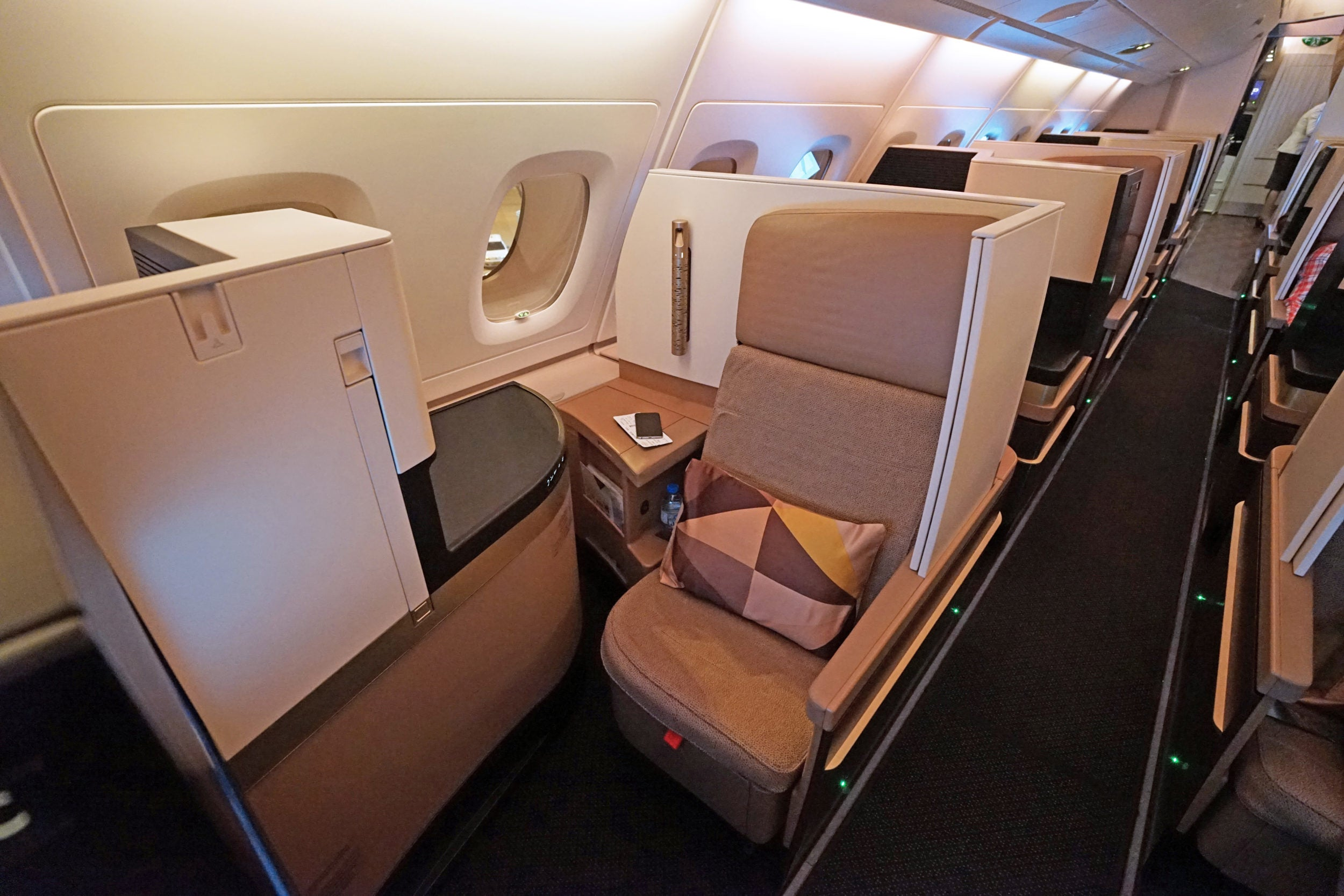 Etihad Airlines Business Class