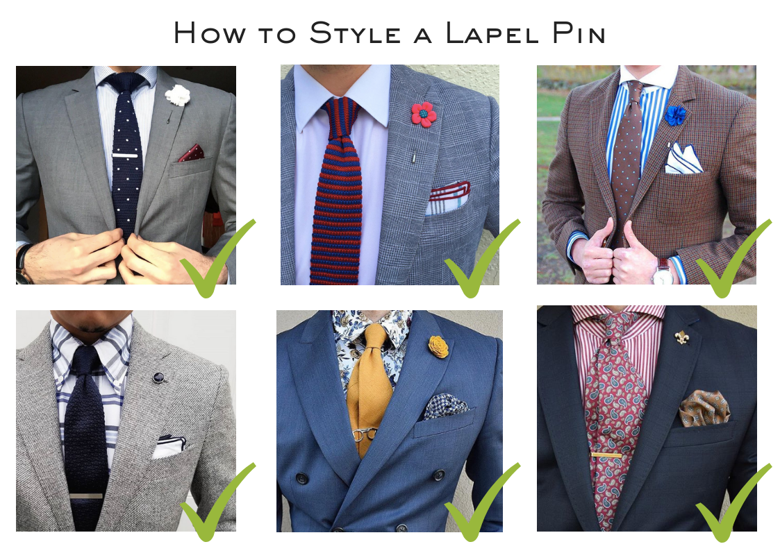 How To Style A Lapel Pin