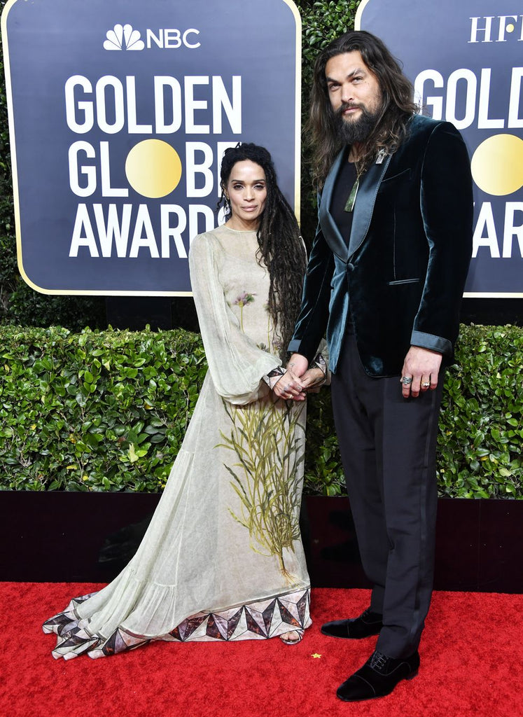 JASON MOMOA - 2020 Golden Globe Awards