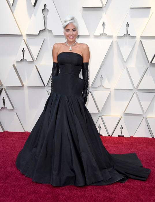 Lady Gaga Oscars Dress