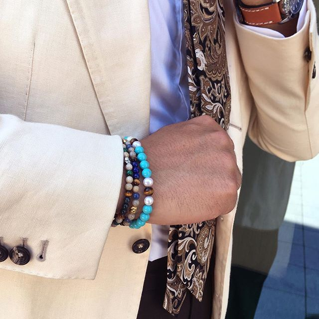 Men's bracelets styling