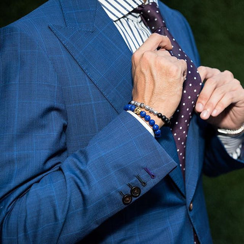 6fce4997b This means you have to be careful when styling them so you don't miss the  mark with your formal tailoring. Men's Bracelets