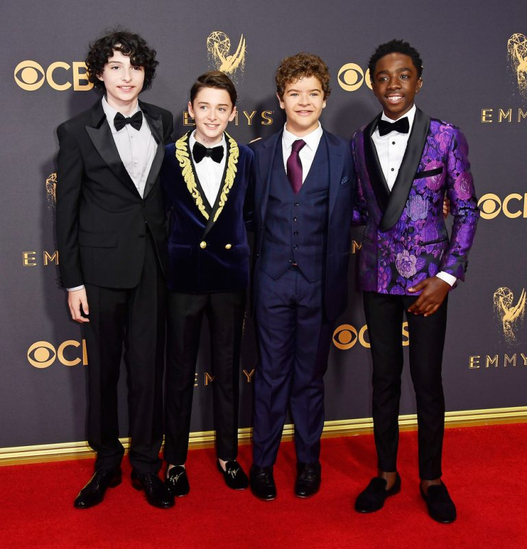 The boys of Stranger Things