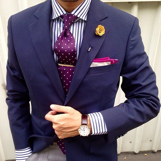 Tie bar and Suit