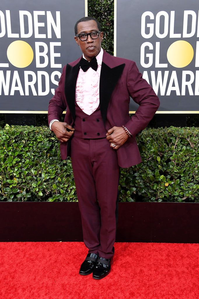 WESLEY SNIPES - 2020 Golden Globe Awards