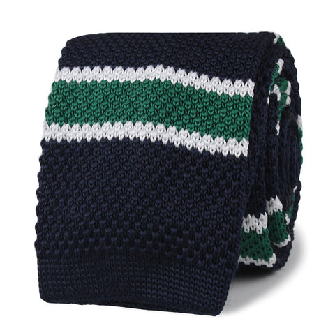 Humphrey Bogart Green Knitted Tie