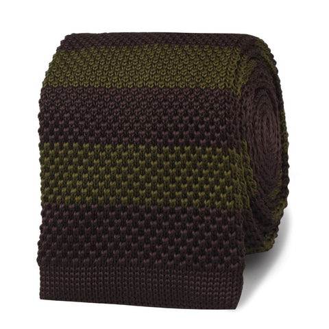 The Sidney Poitier Dark Green Knitted Tie