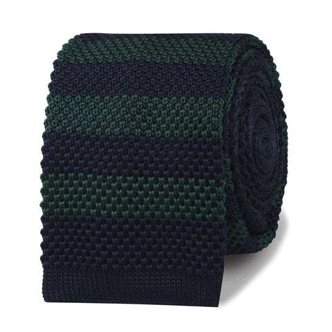Miles Davis Green Knitted Tie