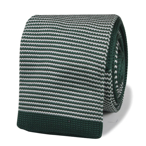 Sammy Davis Jr Green Knitted Tie