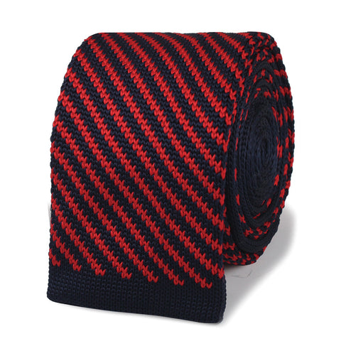 Gregory Peck Red Knitted Tie