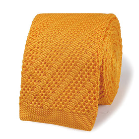 Beatrix Kiddo Yellow Knitted Tie