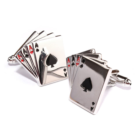 Ace of Cards Cufflinks