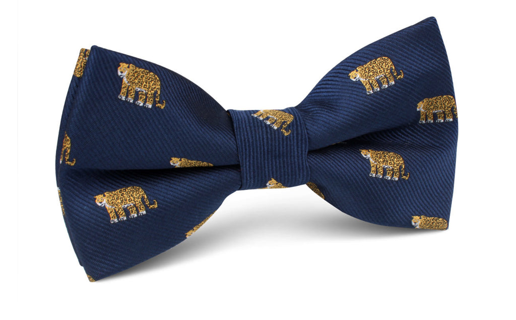 African Cheetah Bow Tie