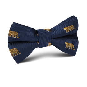 African Cheetah Kids Bow Tie