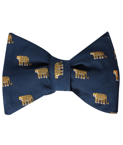 African Cheetah Self Bow Tie