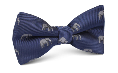 African Forest Elephant Bow Tie