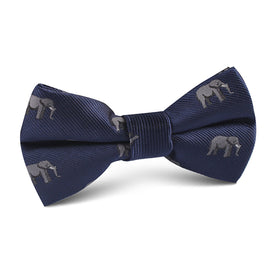 African Forest Elephant Kids Bow Tie