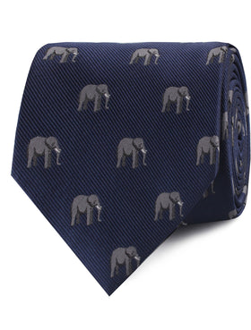 African Forest Elephant Tie