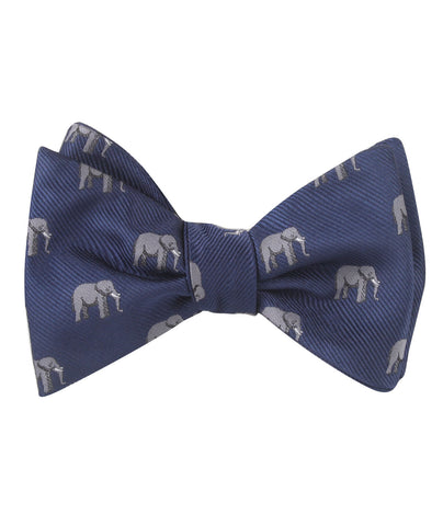 African Forest Elephant Self Bow Tie