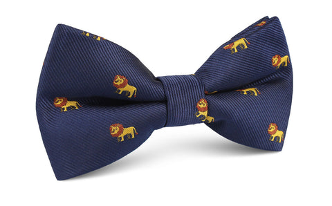 African Lion Bow Tie