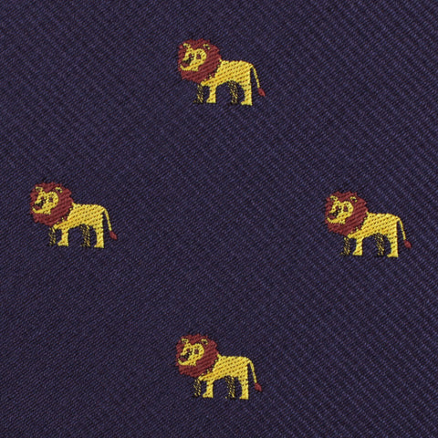 African Lion Kids Bow Tie