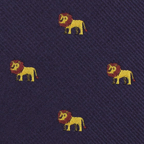 African Lion Pocket Square
