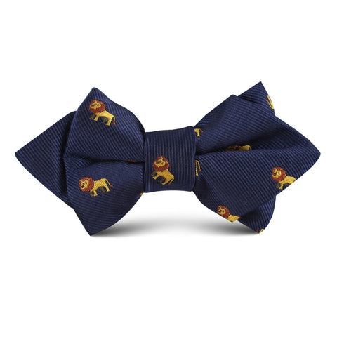 African Lion Kids Diamond Bow Tie